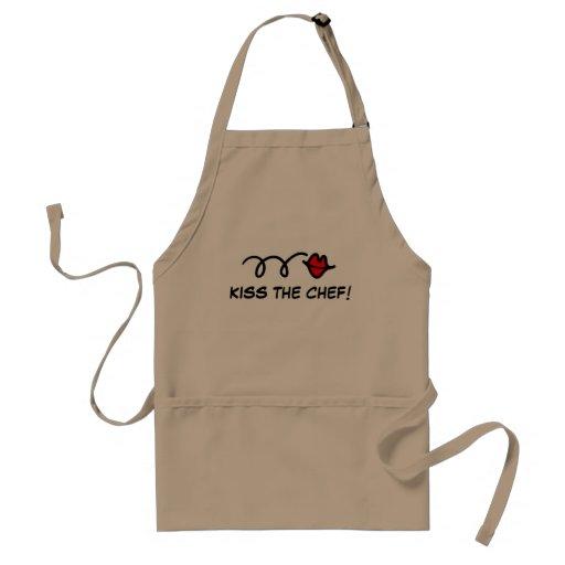 Kiss the chef apron