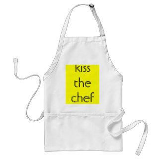 kiss the chef standard apron