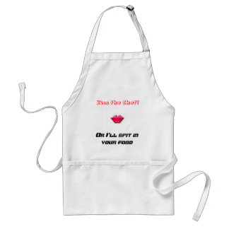 Kiss the Chef!, Or I'll spit in you food Standard Apron