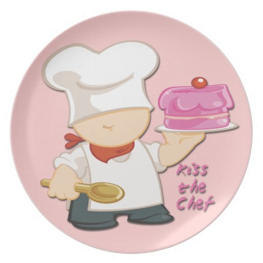 Kiss the Chef Plate