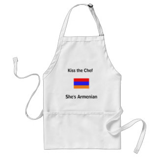 Kiss the Chef, She's Armenian Standard Apron