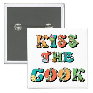 Kiss the Cook Buttons