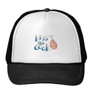 KISS THE COOK MESH HATS