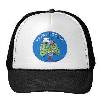 Kiss the Cook! circle Mesh Hat