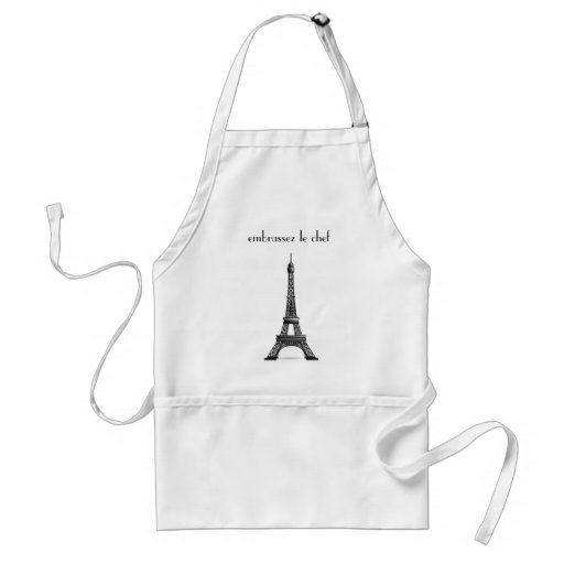 Kiss the Cook-Embrassez le Chef Aprons