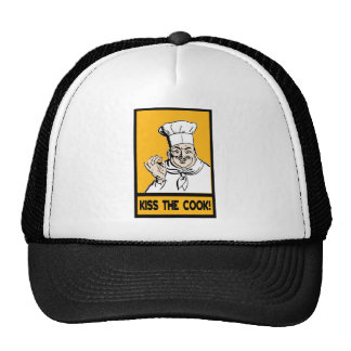 kiss the cook hat