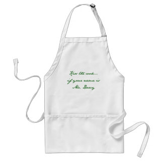 Kiss the cook… if your name is Mr. Darcy Standard Apron
