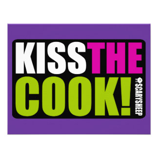 Kiss The Cook Announcement