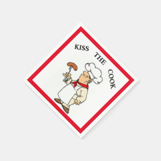 KISS THE COOK PAPER NAPKINS