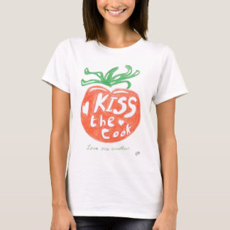 Kiss the Cook Tomato T-Shirt