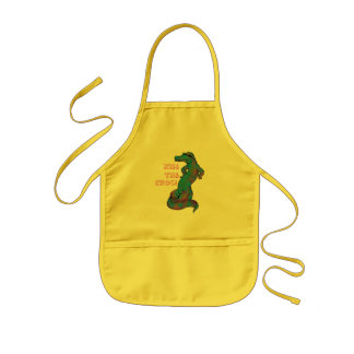 Kiss the Croc! Kids Apron