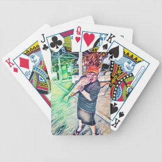 Kiss the Fish Poker Deck