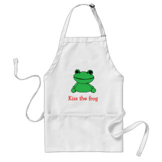 Kiss the Frog Standard Apron