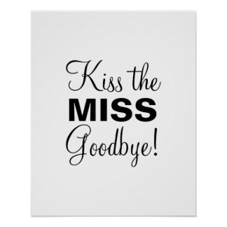 Kiss the Miss Poster
