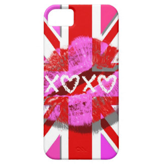 KISS THE UNION JACK - XOXO CASE FOR THE iPhone 5