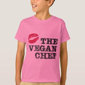 Kiss the Vegan Chef T-Shirt