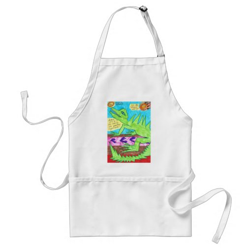 Kiss Your Asteroid Good Bye! Apron