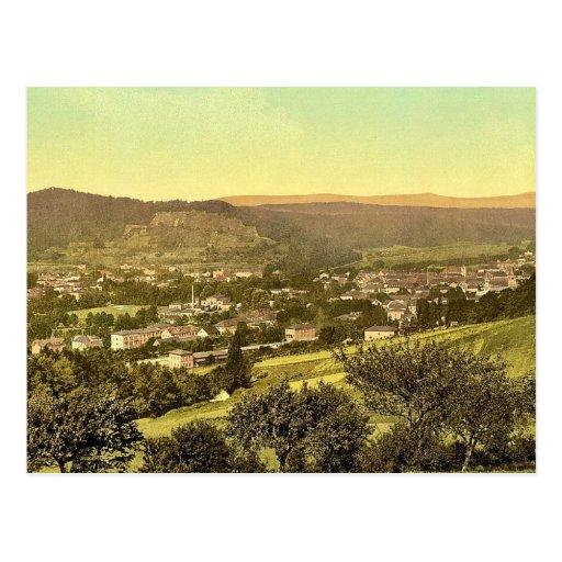 Kissengen (i.e. Bad Kissingen), Bavaria, Germany v Post Card