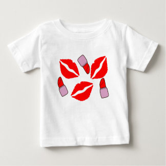 kisses and lipsticks baby T-Shirt