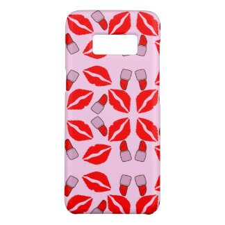 kisses and lipsticks Case-Mate samsung galaxy s8 case