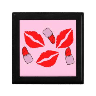 kisses and lipsticks gift box
