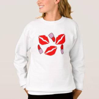 kisses and lipsticks sweatshirt