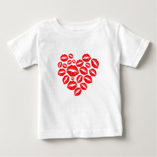 kisses and love heart baby T-Shirt