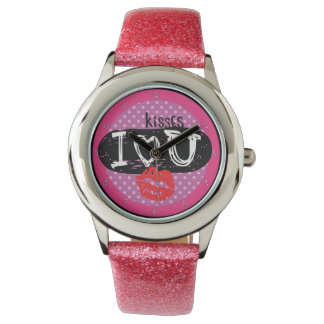 Kisses For You My Love Watch