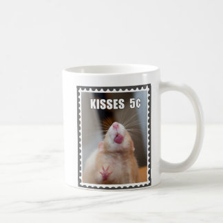 Kisses from Marty Postage Stamp COFFEE MUG