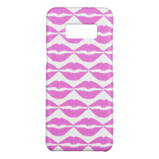 Kisses Hot Pink Lipstick Case-Mate Samsung Galaxy S8 Case