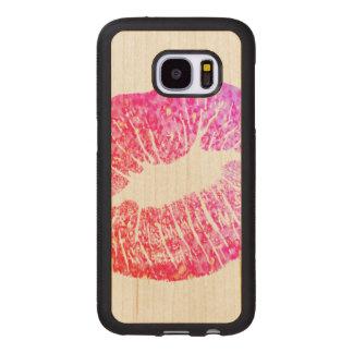 Kisses Wood Samsung Galaxy S7 Case