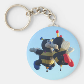 Kissing Bees Keychain