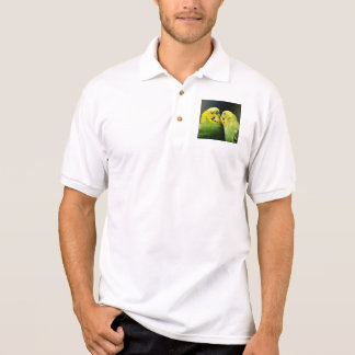 Kissing Budgie Polo Shirt