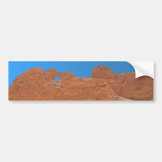 Kissing Camels over White Rock Bumper Sticker