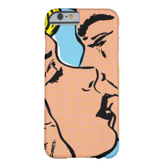 Kissing Couple Barely There iPhone 6 Case