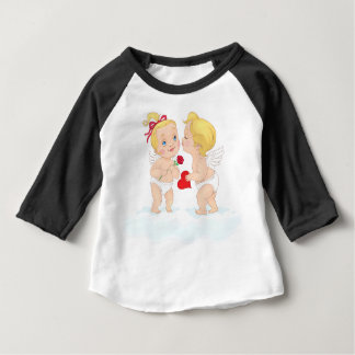 Kissing Cupids Valentine's Day Infant T-Shirt