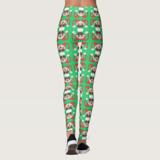 Kissing Elves Leggings