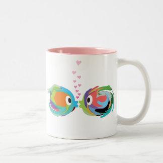 Kissing Fish 11 oz. Ceramic Mug