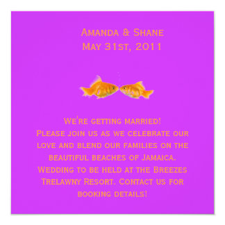 kissing-fish-lg-36606093, We're getting married... Invitation