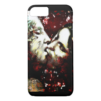 kissing in the rain iPhone 8/7 case