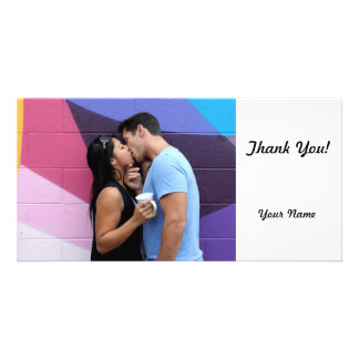 Kissing Picture Card