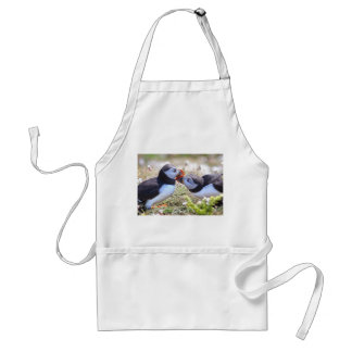 Kissing Puffins Apron