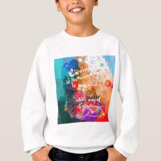Kissing says everything sweatshirt