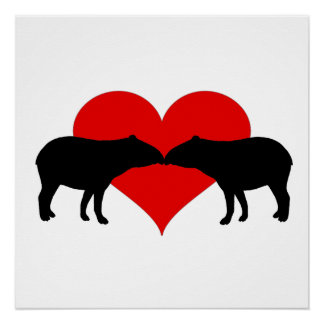 Kissing Tapirs