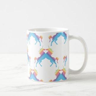 Kissing Unicorns Coffee Mug