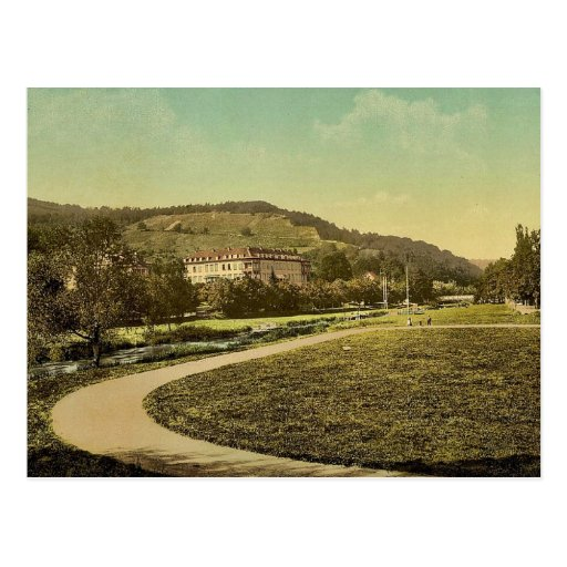 Kissingen (Bad Kissingen), Furstenhof, Bavaria, Ge Postcard
