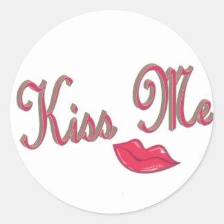 kissme classic round sticker