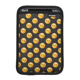 Kissy Face Emoji Pattern Case iPad Mini Sleeves