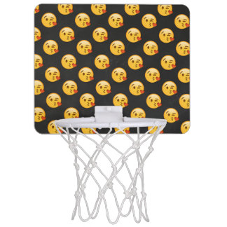 Kissy Face Love Emoji Mini Basketball Hoop