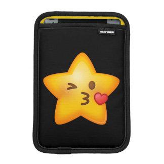 Kissy Face Star Emoji iPad Mini Sleeve